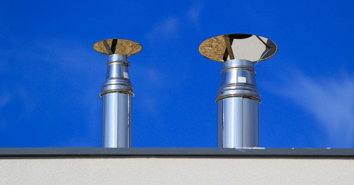 Canne fumarie normativa per progettazione e installazione - Canna fumaria esterna normativa ...