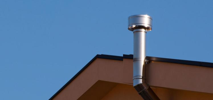 Canne fumarie per caldaie a condensazione breve guida - Scarico fumi cappa cucina a parete ...